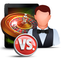 Online Casino Games versus Live Dealer Games