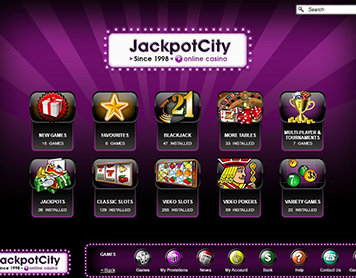 Online Casino Jackpotcity - Review