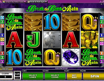 Jackpot City - Slots Break Da Bank Again