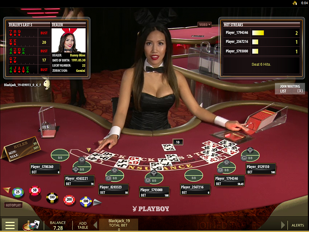 live casino sites online